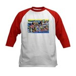 Camp Hale Colorado (Front) Kids Baseball Jersey