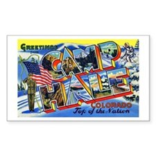 Camp Hale Colorado Rectangle Decal