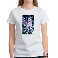 Colorful Cat Women's T-Shirt