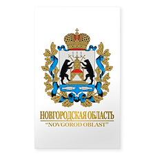 Novgorod Oblast COA Decal