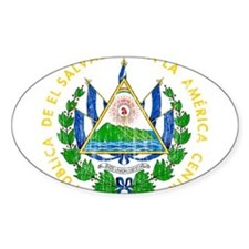 El Salvador Coat Of Arms Decal
