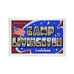 Camp Livingston Louisiana Rectangle Magnet (10 pac