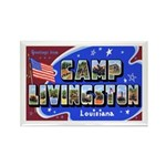 Camp Livingston Louisiana Rectangle Magnet