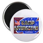 Camp Livingston Louisiana Magnet