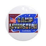 Camp Livingston Louisiana Ornament (Round)