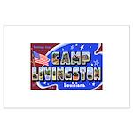 Camp Livingston Louisiana Large Poster