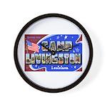 Camp Livingston Louisiana Wall Clock