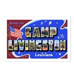Camp Livingston Louisiana Postcards (Package of 8)