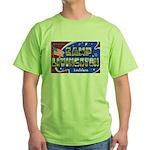 Camp Livingston Louisiana Green T-Shirt