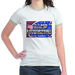 Camp Livingston Louisiana Jr. Ringer T-Shirt