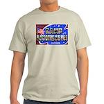 Camp Livingston Louisiana (Front) Ash Grey T-Shirt