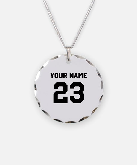 Customize sports jersey numb Necklace