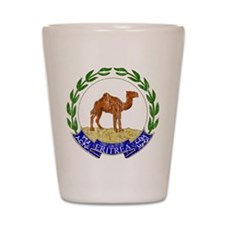 Eritrea Coat Of Arms Shot Glass