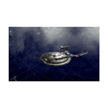 """""""Trapped"""" 35x21 Star Trek Wall Decal"""