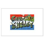 Camp Shelby Mississippi Large Poster
