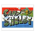 Camp Shelby Mississippi Small Poster