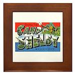 Camp Shelby Mississippi Framed Tile