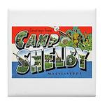 Camp Shelby Mississippi Tile Coaster