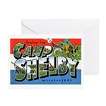 Camp Shelby Mississippi Greeting Cards (Package of