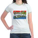 Camp Shelby Mississippi (Front) Jr. Ringer T-Shirt