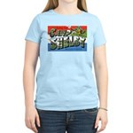 Camp Shelby Mississippi (Front) Women's Pink T-Shi