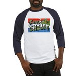 Camp Shelby Mississippi (Front) Baseball Jersey