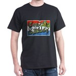 Camp Shelby Mississippi (Front) Black T-Shirt