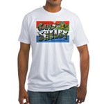 Camp Shelby Mississippi Fitted T-Shirt