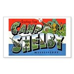 Camp Shelby Mississippi Rectangle Sticker