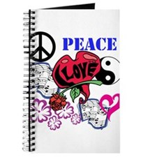 Hippies and Flower Power Journal