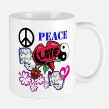 Hippies and Flower Power Small Small Mug
