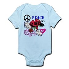 Hippies and Flower Power Infant Bodysuit