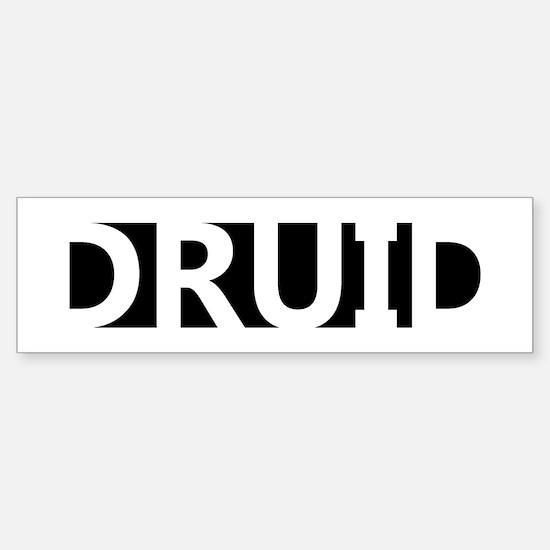 Druid Sticker (Bumper)