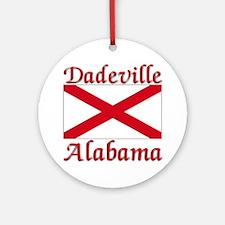 Dadeville Alabama Ornament (Round)