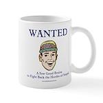 Wanted: A Few Good Brains Mug