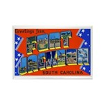 Fort Jackson South Carolina Rectangle Magnet (10 p
