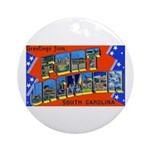 Fort Jackson South Carolina Ornament (Round)