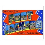 Fort Jackson South Carolina Small Poster