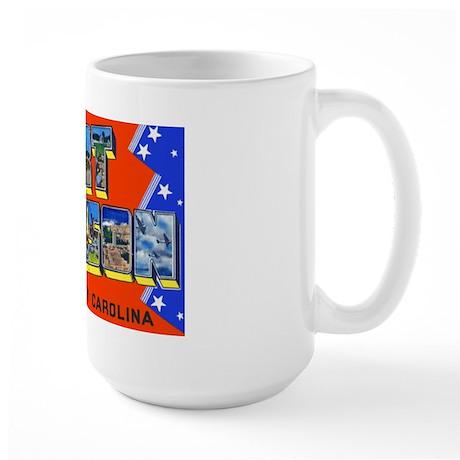Fort Jackson South Carolina Large Mug