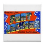 Fort Jackson South Carolina Tile Coaster