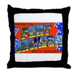 Fort Jackson South Carolina Throw Pillow