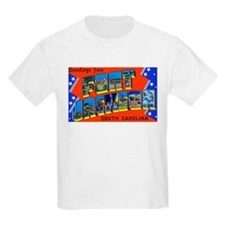 Fort Jackson South Carolina (Front) Kids T-Shirt