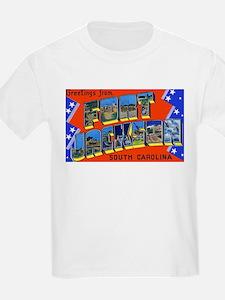 Fort Jackson South Carolina (Front) Kids T-Shirt
