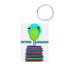 RETIRED LIBRARIAN BIRD 6.PNG Keychains