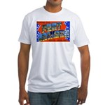 Fort Jackson South Carolina Fitted T-Shirt