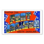 Fort Jackson South Carolina Rectangle Sticker