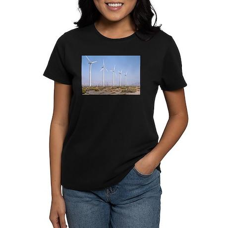 Wind Power Women's Dark T-Shirt