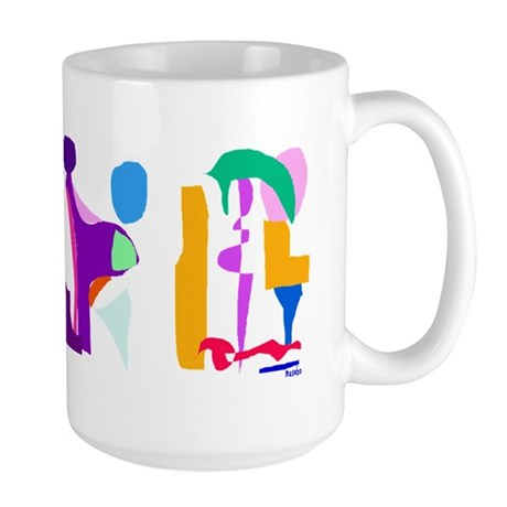 Imaginations Large Mug