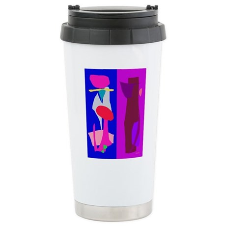 Two Imaginations Stainless Steel Travel Mug
