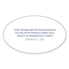 Psychologists / Genesis Decal
